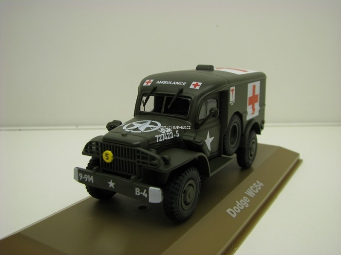 Dodge WC54 Ambulance 1944 1:43 Atlas Edition